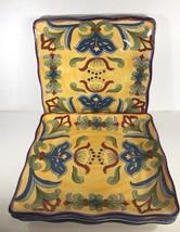 "Maxcera ""YELLOW TALAVERA"" Hand-Painted Ceramic Collection - $34.65+"