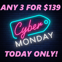 MONDAY ONLY CYBER MONDAY DEAL PICK ANY 3 FOR $139 DEAL BEST OFFERS MAGICK  - $139.00
