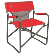Coleman 2000019421 Chair Steel Deck Red - $48.39