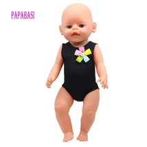 Black 45cm American Girl Doll Bikini summer Swimming wear also fit for 4... - $7.80