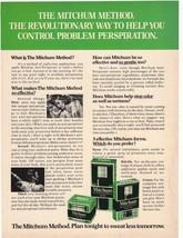 1975 Mitchum's Antiperspirant Advertisement - $16.00