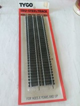 Vintage Model Train Tyco HO Scale Steel Track Four Pieces Nine Inches # 417 - $11.88