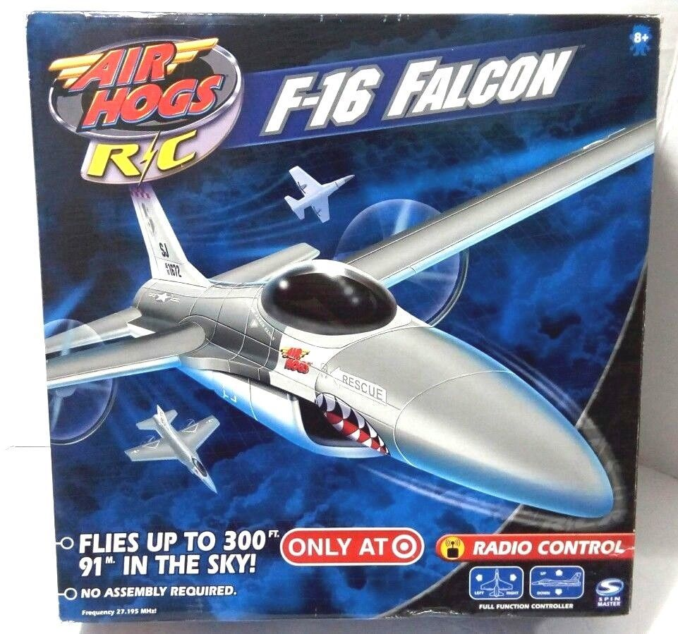 AIR HOGS RC F-16 FALCON FIGHTER RADIO CONTROL AIRPLANE (TARGET EXCLUSIVE)
