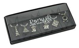Christmas Wine Charm Set - Set of 6 - $11.99