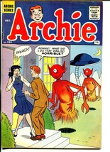 Archie #124-Betty-Veronica-alien flying saucer cover-early 12¢ issue-VG+ - $57.11