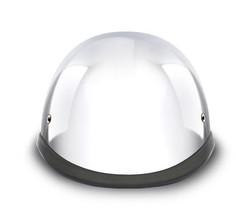 New Daytona Helmets Skull Cap HAWK - CHROME Motorcycle Helmet - $60.90