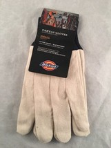 Dickies  Ladies Cotton Canvas Glove, Blue Knit Wrist - $6.76