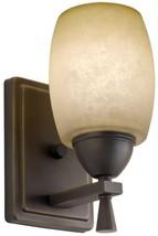 Bronze Wall Sconce Lithonia Lighting Ferros 1-Light Antique Hardwire Flu... - $985,02 MXN