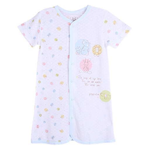BLUE Infant Sleepwear Baby Toddler Cheese Cloths Nightgown 18-24M