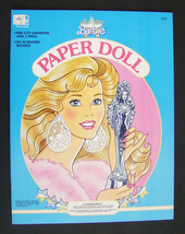 A Golden Book ~ Super Star Barbie Paper Doll ~ 1989 ~ NEW - $14.50