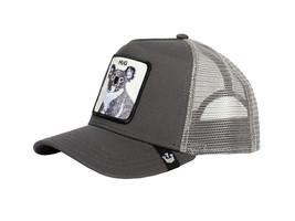 Goorin Bros Snapback Mesh Cap Animal Farm Grey Free Hug Koala Trucker Hat