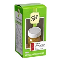 Ball Regular Mouth Jar Storage Caps Set of 8 - $6.86