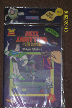 2002 Uniset Toy Story Buzz Lightyear Magic Reusable Stickers New NIP - $6.92
