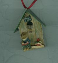 Ms Appleby …..Take Flight Birdhouse Ornament Christmas Boyds Bears - $6.39