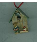 Ms Appleby …..Take Flight Birdhouse Ornament Christmas Boyds Bears - $7.99