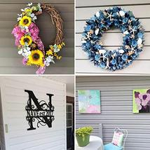 Vinyl Siding Hangers, Heavy Duty Outdoor Light Wreath Pictures Hook for Hanging  image 2
