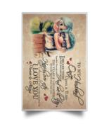 Carl & Ellie To My Husband I Love You Forever POSPO Satin Portrait Poster - $19.00+
