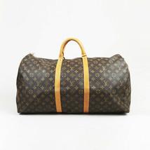 "Louis Vuitton ""Bandouliere Keepall 55"" Monogram Coated Canvas Bag - $1,240.00"