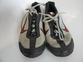 Youth Nike Air Max Torch 3 Silver, Black & Red Size 6.5 - $24.99
