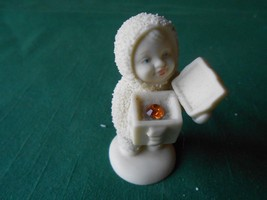 """Great Collectible DEPT.56 """"Snow Baby"""" With Jewel Box..........Free Postage Usa - $11.47"""