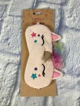 Capelli Pink Unicorn Eye Mask  Girls Small US EbSep - $9.45