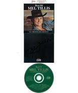Mel Tillis signed 1997 Best of Mel Tillis Album Back Cover w/ CD & Case-... - $68.95