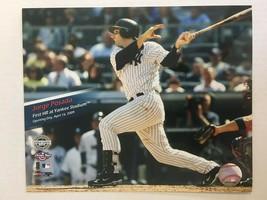 Jorge Posada New York Yankees 2009 New Yankee Stadium Glossy Photo 8 X 1... - $5.99