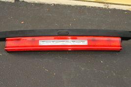 2011-14 Dodge Challenger Trunk Lid Center Tail Light Backup Stop Lamp Panel image 3