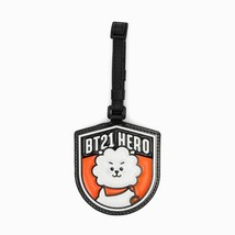 BT21 Character RJ Wappen Luggage Name Tag by BTS x LINE FRIENDS - $24.74