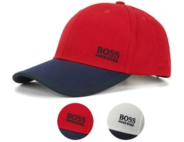 Hugo Boss Men's Premium Adjustable Sport Cotton Twill Hat Cap 14 50330291