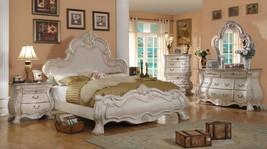 McFerran B1603-Q Victorian Antique White Queen ... - $1,430.00