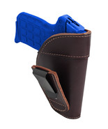 New Barsony Burgundy Leather Tuckable IWB Holster for 380 Ultra Comp 9mm... - $32.99