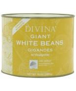 Divina Giant White Beans in Vinaigrette, 4.4 lb can - $18.45