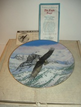 1988 Hamilton Collection The Eagle Soars Plate w/ COA and Box - $19.99