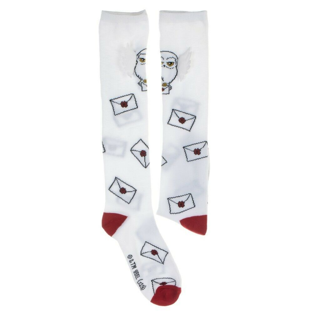 Harry Potter Movie Hedwig with 3D Wing Adult Knee High Socks