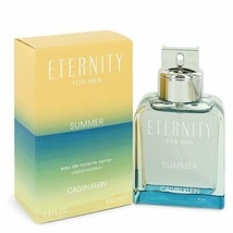 Eternity Summer by Calvin Klein Eau De Toilette Spray (2019) 3.3 oz (Men) - $49.88
