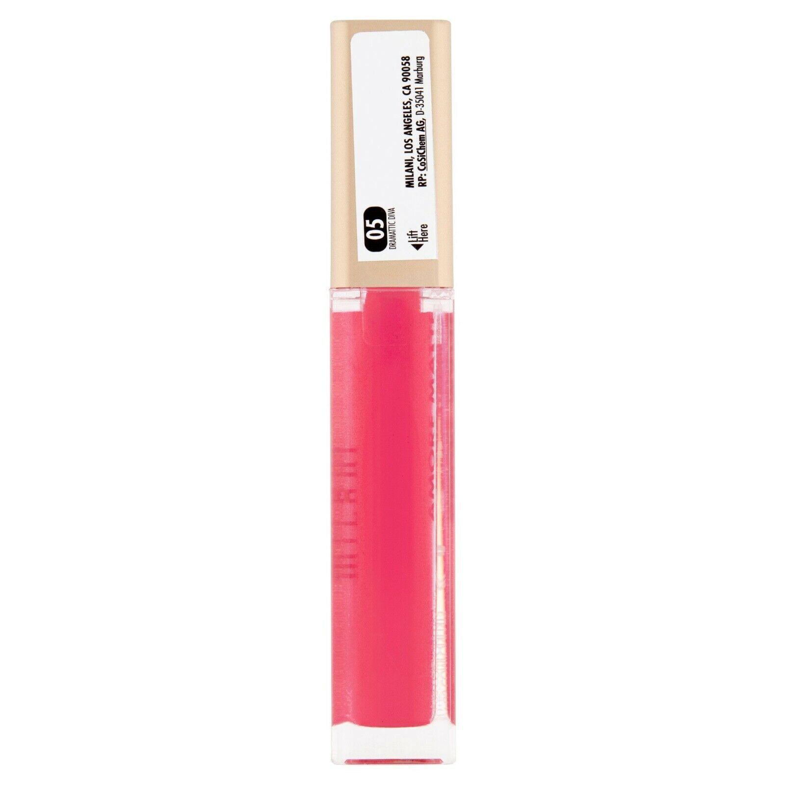 Milani Amore Metallics Matte Liquid Lip Creme, mattallics #05 DRAMATIC DIVA  - $5.86
