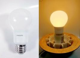 Lot Of 3 Philips Led A19 Light Bulb - 800 Lumens - 8.5 W - Soft White - $7.91