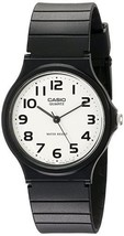 NWOT Casio Men's MQ24-7B2 Analog Black Resin Band Watch - $15.83