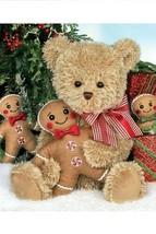 "Bearington Bears ""GINGER & BRAD"" 15"" Plush Bear- #173900 - NWT- 2017 - $29.99"