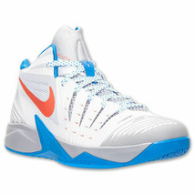 Men's Nike Zoom I Get Buckets Basketball Shoes, 643300 100 Size 12 White... - $109.95
