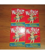 Guided reading 4 book lot teacher Wiggle Doreen Cronin beginning reader ... - $4.99