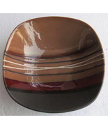 """Better Homes And Gardens """"Bazaar Brown"""" Stripes Collectible Large Dinner... - $14.99"""