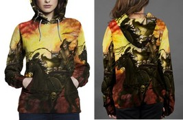 Death On The Road Wallpaper Hoodie Women's - $44.99+