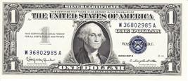 "1957 SERIES B $1 SILVER CERTIFICATE NOTE ""CRISP CONDITION"" - $19.00"