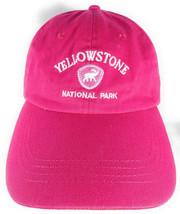 Yellowstone National Park Baseball Style Hat Cap Pink Women's - $12.19