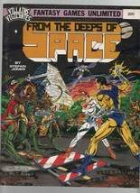From the Deeps of Space - Fantasy Games Unlimited #2011 - Villains & Vig... - $12.73