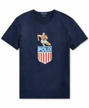 New Mens POLO Ralph Lauren Chariots of Fire Track T-Shirt Size L Custom Slim Fit - $35.00