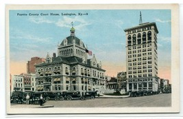 Court House Lexington Kentucky 1920s postcard - $6.39