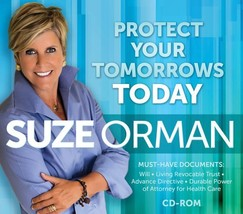 Protect Your Tomorrows Today [CD-ROM] Suze Orman - $20.79